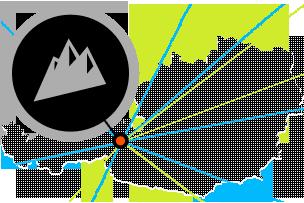 Österreich-Karte Wallegghof