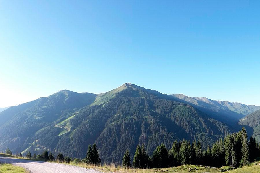 Saalbach Hinterglemm - Aussicht im Sommer