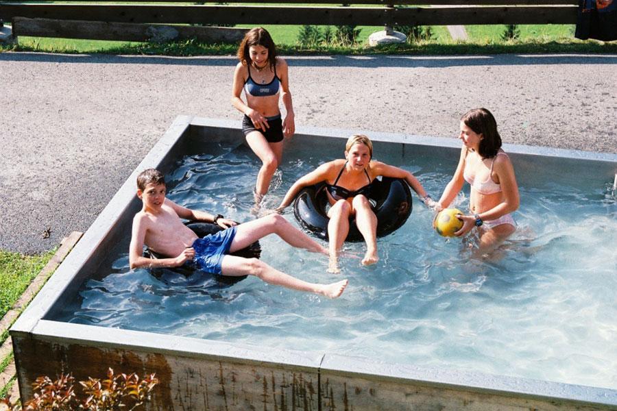 Wallegghof - Badespaß